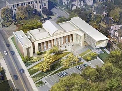 The future Westmoreland Museum of American Art breaks ground in Pennsylvania
