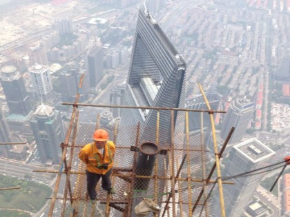 Just came back from a super interesting climb to the Top  of China´s Tallest Tower in Shanghai