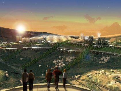 EXP+LEMAY wins the international competition for the new city of El-Menia, Algeria
