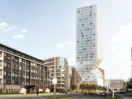 MVRDV wins tower competition in Vienna: Turm mit Taille
