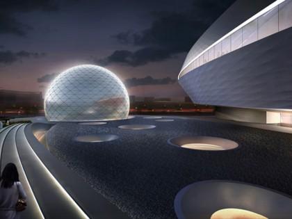 Ennead design planetarium in Shanghai
