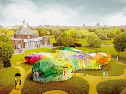 First images of Selgas Cano's Serpentine Pavilion