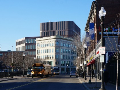 Mecanoo opens new municipal building in Boston