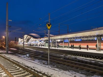 Graz Main Station Redevelopment by Zechner & Zechner