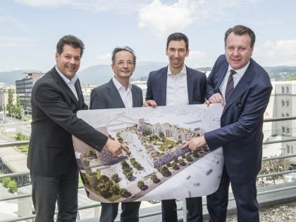 The construction of more than 400 new apartments will start soon in Graz/Austria. Zechner & Zechner