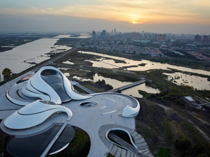 MAD ARCHITECTS completed Harbin Opera House