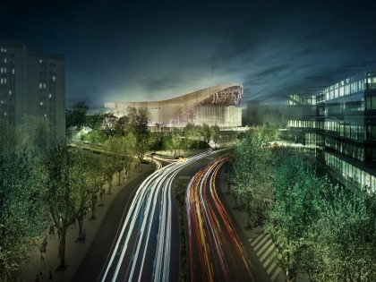 New Palau Blaugrana won by HOK and TAC Arquitectes