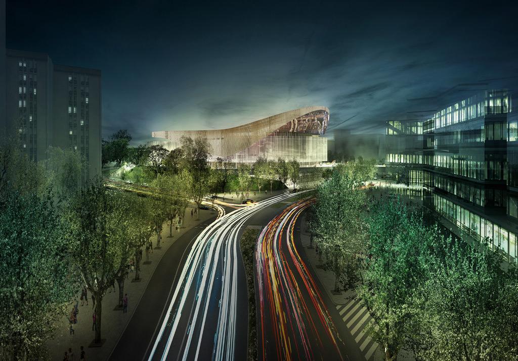 New Palau Blaugrana won by HOK and TAC Arquitectes