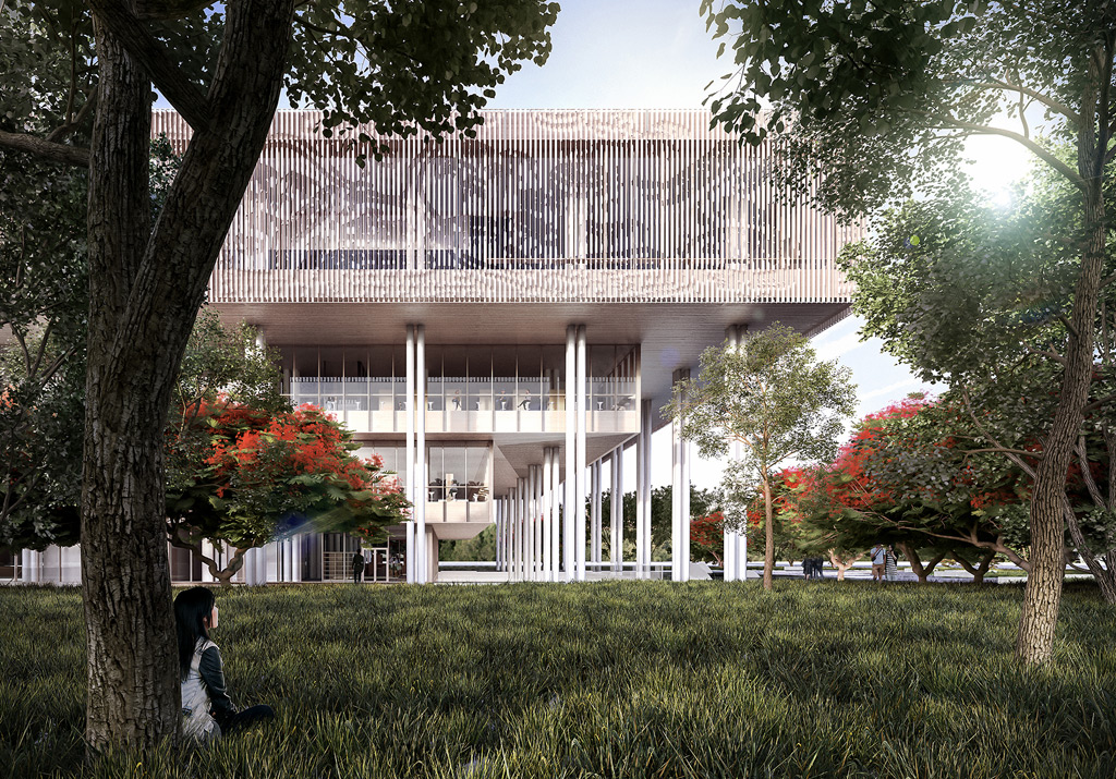 Mecanoo wins Tainan Public Library competition