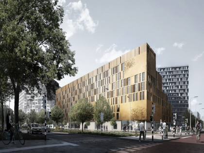 Schmidt Hammer Lassen Architects wins competition to design a new educational facility at the University of Applied Sciences Utrecht, The Netherlands