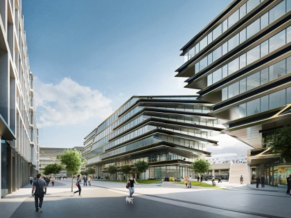 Zaha Hadid Architects to regenerate site adjacent to Masaryk Railway Station