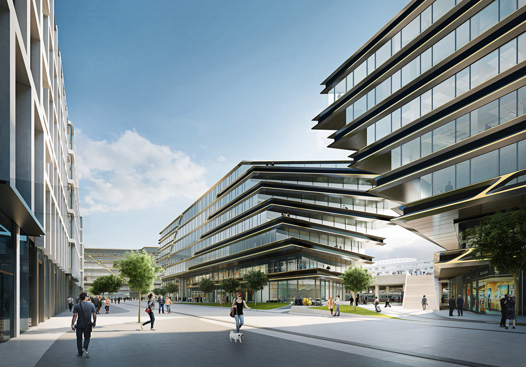 Zaha Hadid Architects to regenerate site adjacent to Masaryk Railway Station