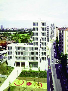 1.-Social Housing and public park, via Gallarate_MAQUETA.qxd.qxd